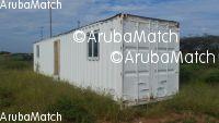 Aruba Ta bende container 40 pia semi kla pa biba