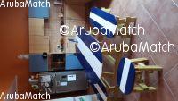 Aruba lounge set / tuinset surfboard