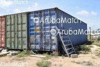 Aruba 2x 40feet sea container.