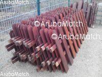 Aruba Wooden fence