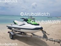 Aruba Selling a 2013 Seadoo GTS 130 with a brand new aluminium trailer