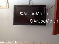 Aruba T.V panasonic flat screen