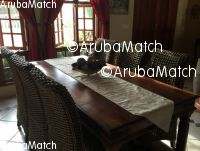 Aruba Offered 6 Dining Chairs