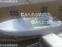 Aruba Mi ta bende un speedboat 16 pia cu su trailer