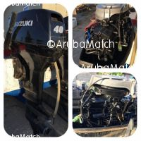 Aruba Suzuki Outboard Motor 40 HP 2 stroke