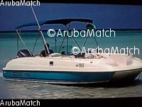 Aruba bayliner 26 ft deckboat no engine , incl.trai