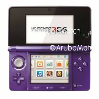 Aruba 3DS with charger + 10 games + AR Cards and SD Card