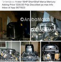 Aruba Motor di boto 15hp Mercury Shortshaf