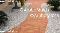 Aruba Pa tur trabouw di klinkers