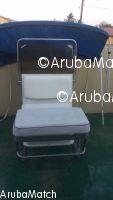 Aruba Ta bende un center console Bimini top y un stoel stainless stee