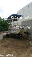 Aruba 16ft boat center console