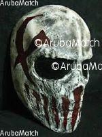 Aruba mi ta bendiendo un skull mask pa haloween of airsoft